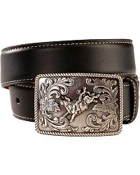 Nocona Black Leather Belt w/ Monster Truck Toy at Sheplers