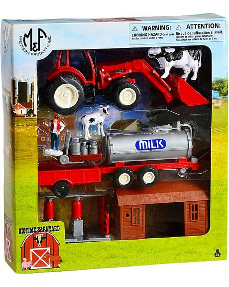 Farm and Loader Toy Set