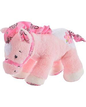 Buckaroo Baby Pink Bandana Plush Horse