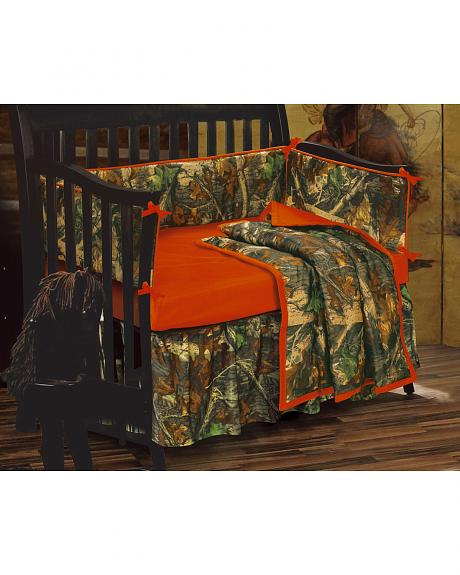 HiEnd Accents Realtree Camo Crib Set