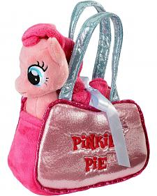 My Little Pony Pinkie Pie Stuffed Pony & Pet Carrier