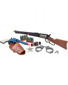Kids' Western Rifle & Pistol Set