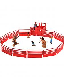 Bigtime Rodeo Bull Rider & Rodeo Set