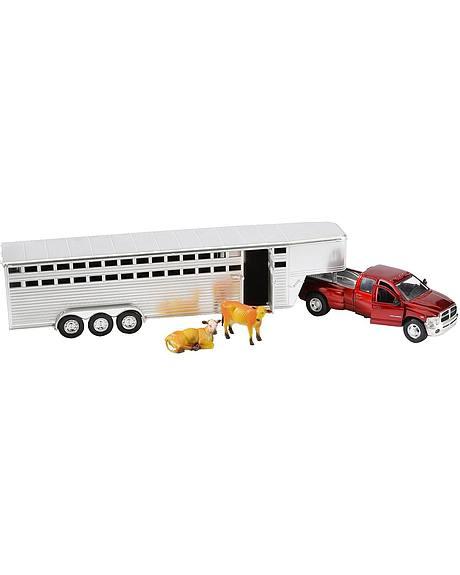 Bigtime Rodeo Dodge RAM Truck & Trailer Set