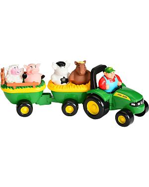 John Deere Animal Sounds Hay Ride Toy Set