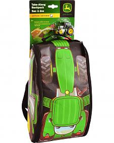 John Deere Tractor & Playmat Backpack