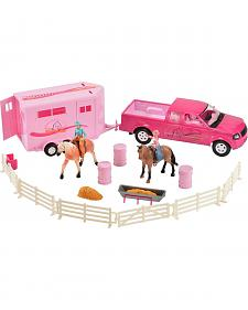 Bigtime Rodeo Cowgirl Truck, Trailer & Accessory Set