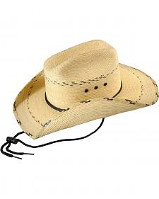 Bullhide Kids' Miller Jr. Leaf Straw Cowboy Hat
