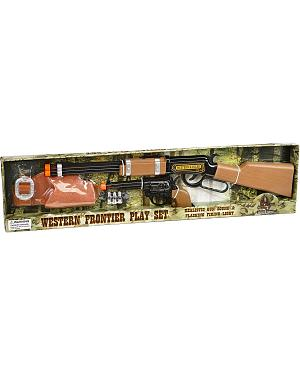 Western Frontier Rifle & Pistol Set