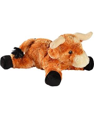 Little Longhorn Stuffed Toy Animal