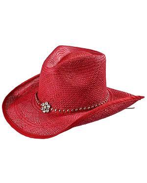 Bullhide All American Straw Cowgirl Hat