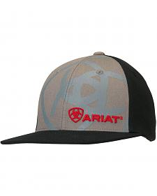 Ariat Boys' Logo Embroidery & Screen Print Cap