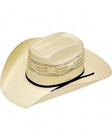 Boys' Youth Twister Bangora Vented Straw Cowboy Hat