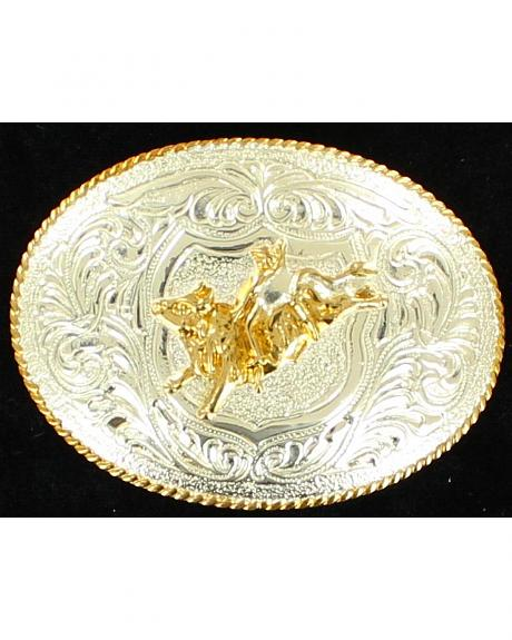 M&F Western Bullrider Kids Belt Buckle