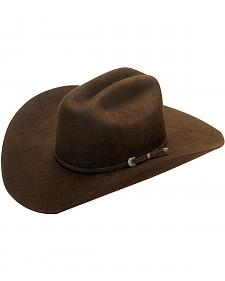 Dallas Chocolate Felt Cowboy Hat