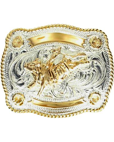 Kids Bull Rider Belt Buckle Western & Country C1059102