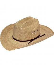 Boys' Twister Natural Straw Cowboy Hat