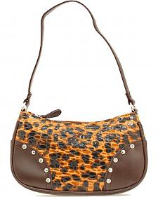 Girls' Leopard Print Purse