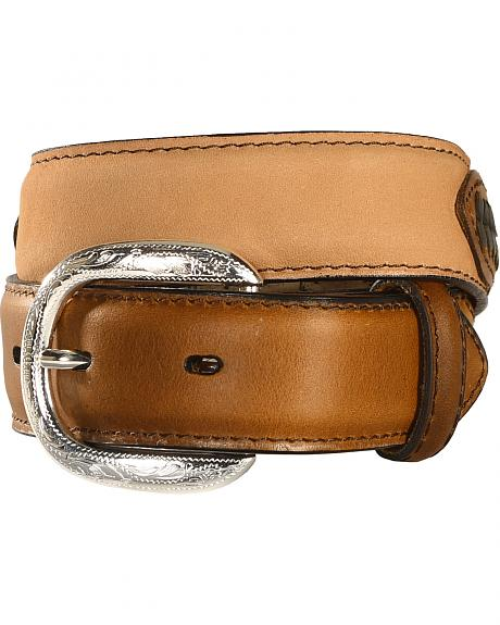 M & F Western Kids' Lacing & Concho Belt