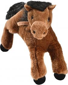 Aurora Brown Stuffed Horse Toy