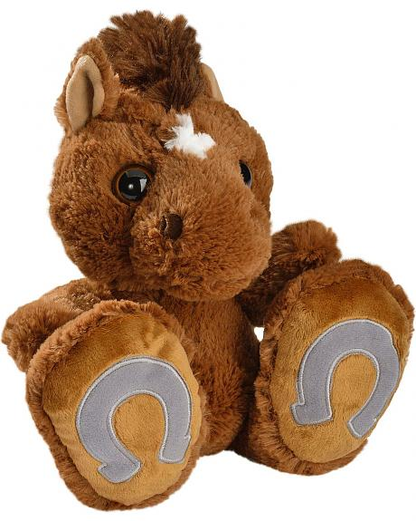 Taddle Tot Toes Stuffed Horse