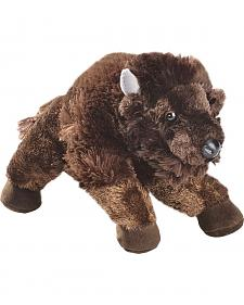 Stuffed Bison Toy Animal