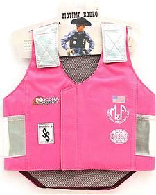 Girls' Pink Bull Rider Vest
