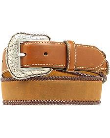 Nocona Kids' Leather Laced Edge Belt