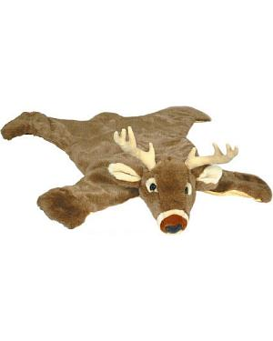 White Tail Deer Plush Rug