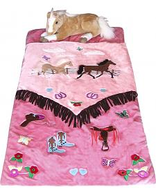 Kids' Cowgirl Sleeping Bag