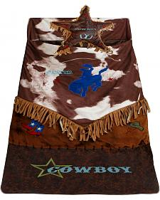 Kids' Western Star Bucking Bronco Sleeping Bag