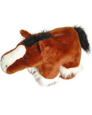 Clydesdale Plush Horse Bank