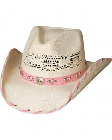 Bullhide Shine a Little Love Straw Cowgirl Hat