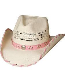 Bullhide Shine a Little Love Straw Cowgirl Hat
