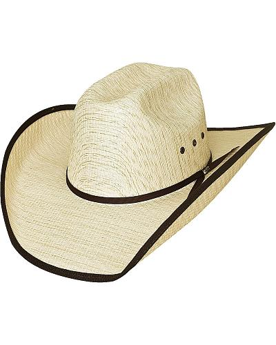 Bullhide Kids Woven Straw Banded Brim Cowboy Hat Western & Country 2809
