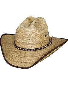 Bullhide Kids' Wide Open Palm Leaf Cowboy Hat