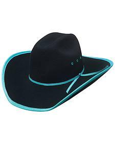 Bullhide Leave Your Mark Colorful Brim Kids' Cowboy Hat