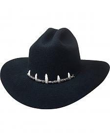 Bullhide Little Wrestler Gator Teeth Kids' Wool Cowboy Hat