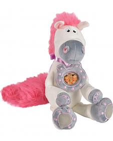 Bigtime Barnyard Plush Horse with Horseshoe Photo Frame