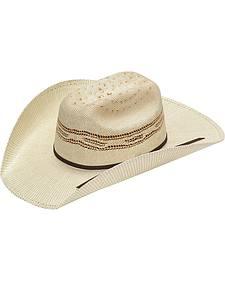 Twister Kids' Tan Bangora Straw Cowboy Hat