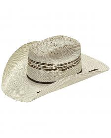 Twister Kids' Brown Bangora Straw Cowboy Hat