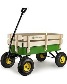 John Deere Steel Stake Wagon