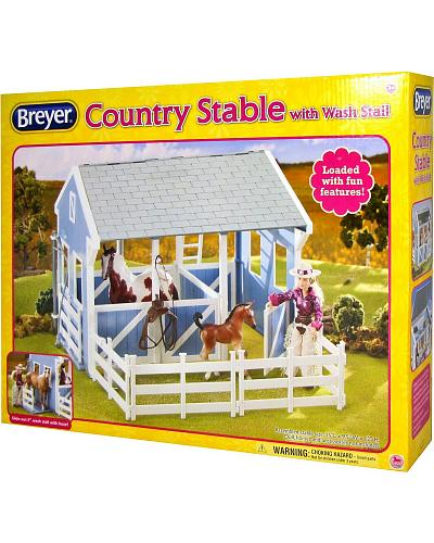Breyer Classics Country Stable and Wash Stall Western & Country 699