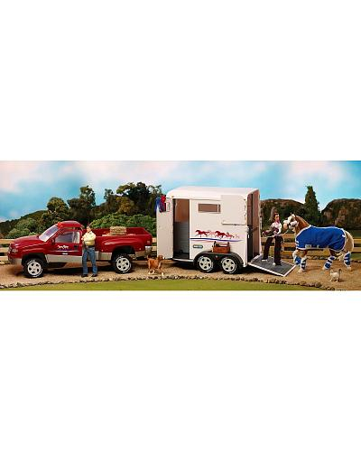 Breyer Traditional Series Dually Truck Western & Country 2614