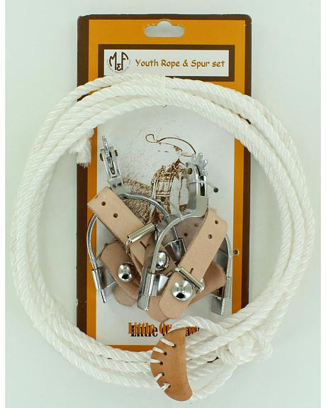 Little Outlaw Toy Rope & Spur Set