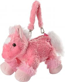 Cowgirl Hardware Plush Pink Horse Purse