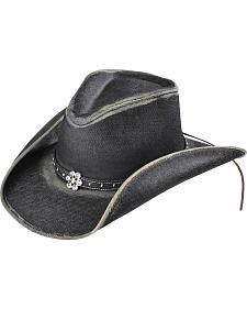 Bullhide Girls' Out of the Blue Denim Cowgirl Hat