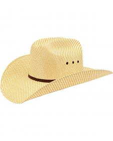 Ariat Childrens' Double S Straw Cowboy Hat