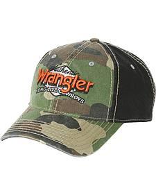 Wrangler Youth Camo Logo Ballcap