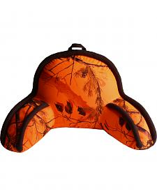 Carstens Home Realtree Blaze Orange Camo Lounge Pillow